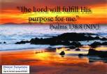 God has a Destiny for Your Life